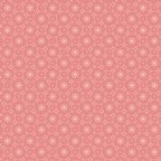Braveheart by Makower UK - 6646 - Stylised Daisy Chain Floral on Pink  - 9181_RE - Cotton Fabric